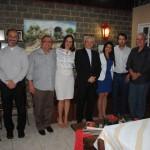 Prefeito Mauro Henrique participa de jantar com Bispo Dom Edney