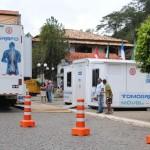Tomógrafo Móvel fica em São Sebastião do Alto durante duas semana