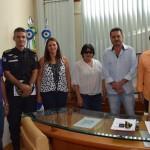 Prefeita Rosangela solicita volta da viatura da DPO de Valão do Barro
